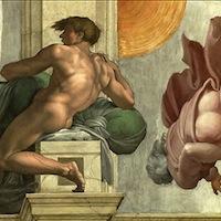 Michel-Ange, fresque de la Chapelle Sixtine