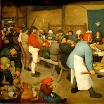 Brueghel l'Ancien, Noces de paysans