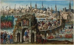 Entrée du toi Henri II à Rouen en octobre 1550