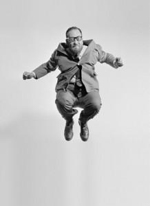 Philippe Halsman, Jump (Stanley Edgar), 1959