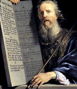 Philippe de Champaigne, Moïse tenant les tables de la Loi, Milwaukee Art Museum