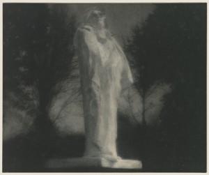 Edward Steichen, Balzac, photographie au charbon direct, 15,7 x 19,1 cm, Paris, musée Rodin © musée Rodin