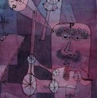 Paul Klee, Analÿse verschiedener Perversitäten (Analyse des perversités diverses), 1922, détail