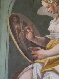 Vasari, La Peinture, Florence, Casa Vasari, Salone