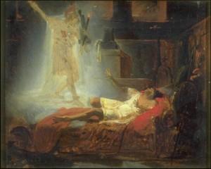 Félix Auvray Le rêve d'Enée, Musée des Beaux-Arts de Valenciennes