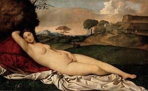 Giorgione, Vénus endormie, 1508