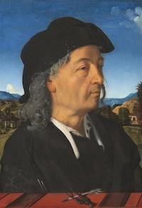 Piero di Cosimo, Portrait de Giuliano da Sangallo