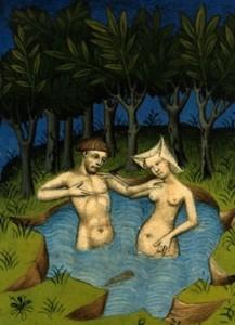 Anonyme, Adam et Eve, Moyen âge