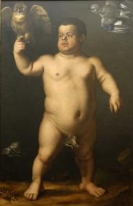 Bronzino, Le Nain Morgante, 1552, Florence