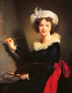 Louise Élisabeth Vigée Le Brun, Autoportrait, 1790