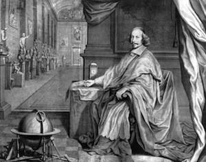 Robert Nanteuil, Jules Mazarin et la bibliothèque Mazarine v. 1659