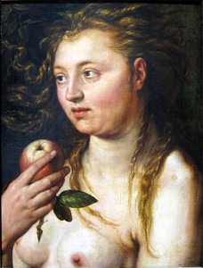 goltzius, Eve, 1613, musée de Strasbourg
