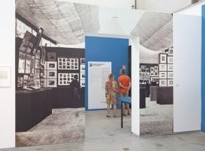 Vue de l'exposition « Un laboratoire des premières fois ». Les collections de la Société Française de Photographie. Musée départemental Arles antique, Rencontres d'Arles, 2012.