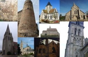 La place des édifices religieux dans la formation de l'espace médiéval en France