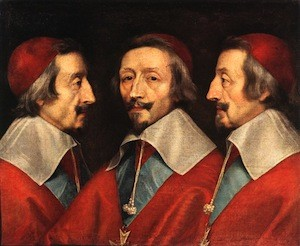 Philippe de Champaigne, Triple portrait de Richelieu, 1641-42, Londres, National Gallery