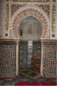 Mihrab du mausolée d'Idris II, Fès, Maroc, XVIe-XVIIIe siècles © cliché de l'auteur.