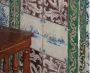 Fig. 5. Mihrab du mausolée d'Idris II, Fès, Maroc, carreau de Delft, cliché de l'auteur.