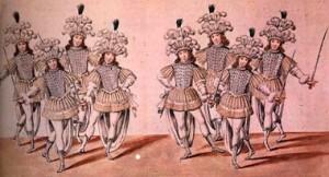 Ballet à la cour de la Louis XIV