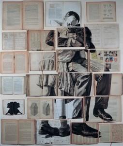 Ekaterina Panikanova, Installation de livres peints