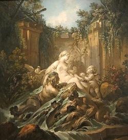 François Boucher, La Fontaine de Vénus, 1756, Cleveland Museum of Art