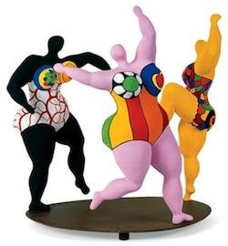 Niki de Saint Phalle, Les trois Grâces, 1994, Marché de l'art