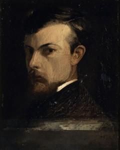 Odilon Redon, Mon portrait, 1881, Paris, Orsay