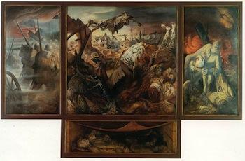 Otto Dix, 'La guerre', triptyque,1929- 1932