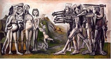Pablo Picasso, Massacre en Corée, 1592, Paris