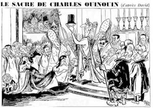 Pol-Ferjac, dessin publié dans Le Canard enchaîné, 24 décembre 1958
