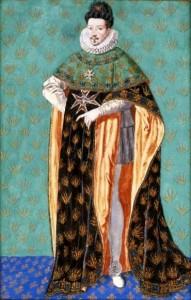 Anonyme, Portrait de Henry III, vers 1610, gouache, Varsovie