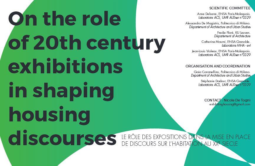 affiche séminaire rôle des expositions