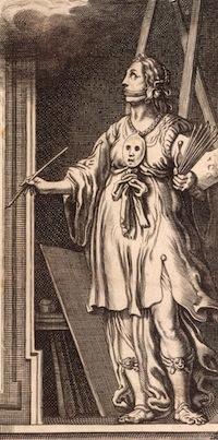 Cesare Ripa, Iconologia, La Peinture (détail)