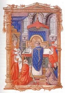 Codex Rawlinson A417, f.37v, Oxford - manuscrit français du XVe siècle