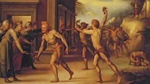 Domenico Beccafumi, Les Lupercales, 1519, Florence, Coll Martelli