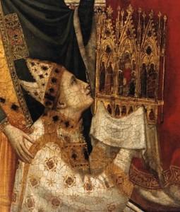 Giotto, Triptyque Stefaneschi (détail)