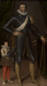 François de Bonne (1543-1626), premier duc de Lesdiguières, connétable de France.