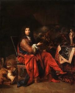 Nicolas de Largillière. Portrait de Charles Le Brun, 1683-1686