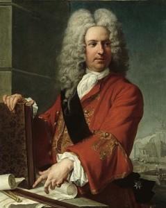 Anonyme, Portrait de l'architecte Jacques V Gabriel (1667-1742), Versailles
