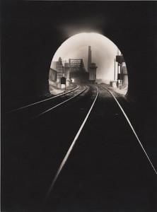 Francois Kollar, Bouche du tunnel Sainte-Catherine, vers Sotteville-lés-Rouen, 1931