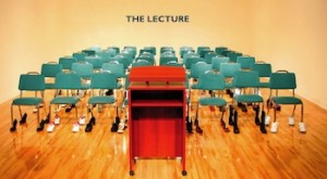 IAIN BAXTER&, The Lecture, 2009, Toronto