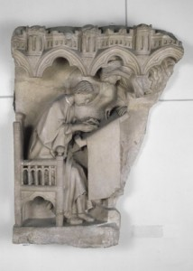 Saint Matthieu, Element-du-jubé-de-la-cathédrale-de-Chartres, Paris, XIIIe, Louvre