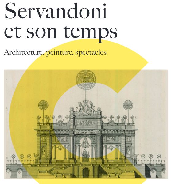 Colloque international servandoni et son temps for Architecture et son
