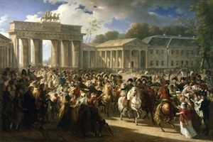 L'entrée de Napoléon à Berlin