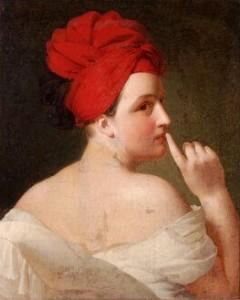 Pauline Appert, La Discrétion, 1810