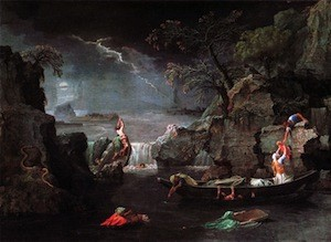 Poussin, L'Hiver ou le Deluge, Paris, Louvre, 1660-1664