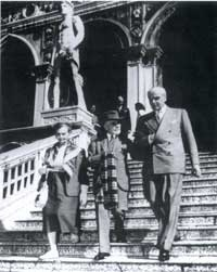 Vittorio Cini et Bernard Berenson.