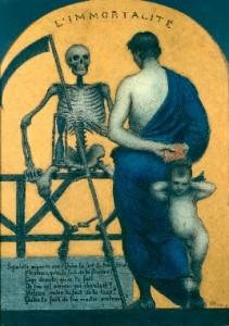 Xavier Mellery L'immortalité, vers 1890, Bruxelles