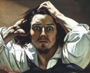 Gustave Courbet, Autoportrait ou le Désespéré,1844-45
