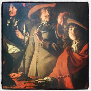 Louis Le Nain, La tabagie, dit aussi Le corps de garde, Paris, Louvre