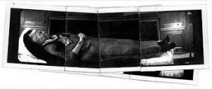 Susan Sontag sur son lit de mort